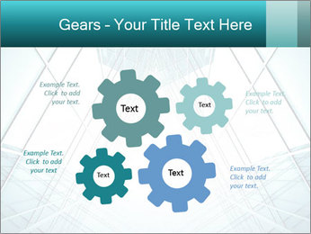 Corridor of glass PowerPoint Template - Slide 47
