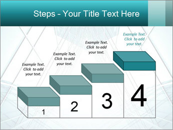 Corridor of glass PowerPoint Template - Slide 64