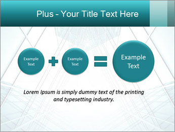 Corridor of glass PowerPoint Templates - Slide 75