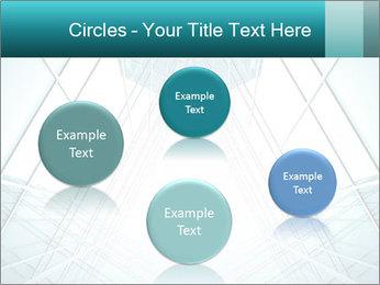 Corridor of glass PowerPoint Templates - Slide 77