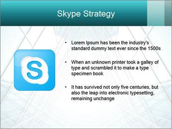 Corridor of glass PowerPoint Templates - Slide 8