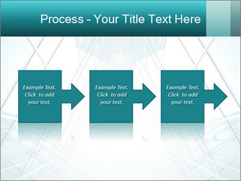 Corridor of glass PowerPoint Template - Slide 88