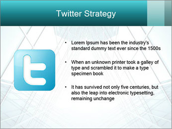 Corridor of glass PowerPoint Templates - Slide 9