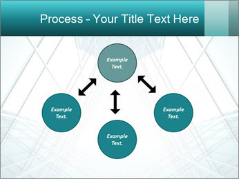 Corridor of glass PowerPoint Template - Slide 91