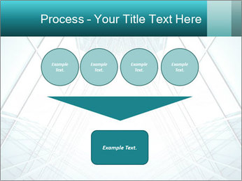 Corridor of glass PowerPoint Template - Slide 93