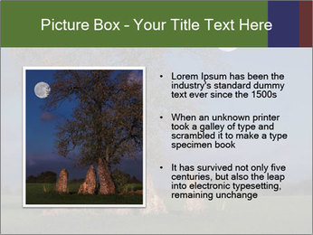 Late evening shot PowerPoint Template - Slide 13
