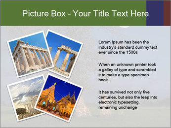Late evening shot PowerPoint Template - Slide 23
