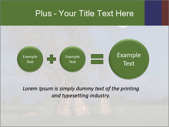 Late evening shot PowerPoint Template - Slide 75