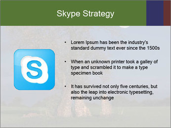 Late evening shot PowerPoint Template - Slide 8