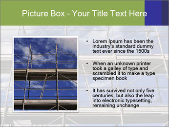 Metal scaffolding PowerPoint Template - Slide 13