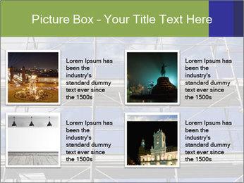 Metal scaffolding PowerPoint Template - Slide 14