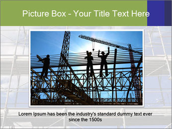 Metal scaffolding PowerPoint Template - Slide 15