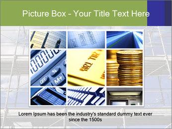 Metal scaffolding PowerPoint Template - Slide 16