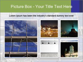 Metal scaffolding PowerPoint Template - Slide 19