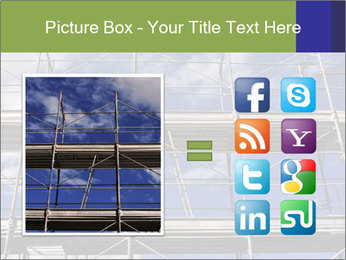 Metal scaffolding PowerPoint Template - Slide 21