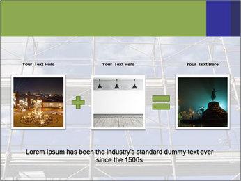 Metal scaffolding PowerPoint Template - Slide 22