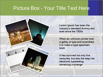 Metal scaffolding PowerPoint Template - Slide 23