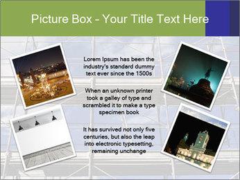 Metal scaffolding PowerPoint Template - Slide 24