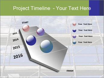 Metal scaffolding PowerPoint Template - Slide 26
