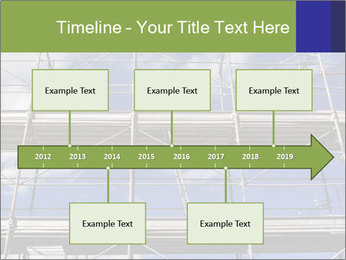 Metal scaffolding PowerPoint Template - Slide 28