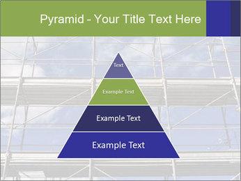 Metal scaffolding PowerPoint Template - Slide 30