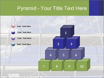 Metal scaffolding PowerPoint Template - Slide 31