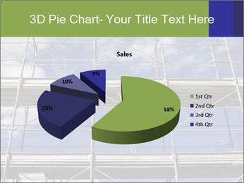 Metal scaffolding PowerPoint Template - Slide 35