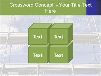 Metal scaffolding PowerPoint Template - Slide 39