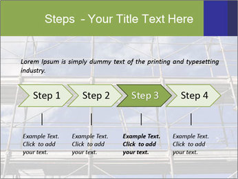 Metal scaffolding PowerPoint Template - Slide 4