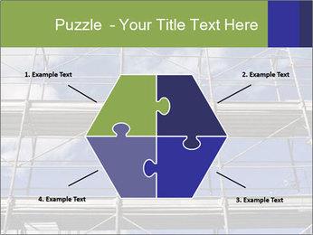 Metal scaffolding PowerPoint Template - Slide 40