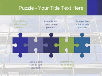 Metal scaffolding PowerPoint Template - Slide 41