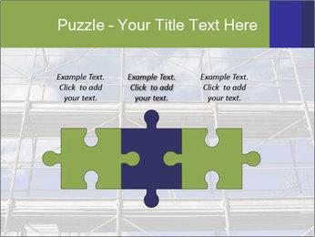 Metal scaffolding PowerPoint Template - Slide 42