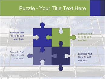 Metal scaffolding PowerPoint Template - Slide 43