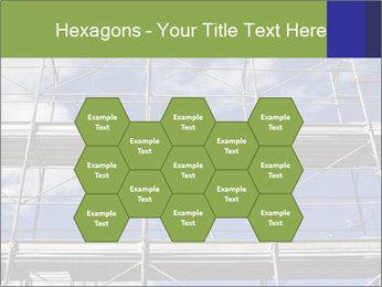 Metal scaffolding PowerPoint Template - Slide 44