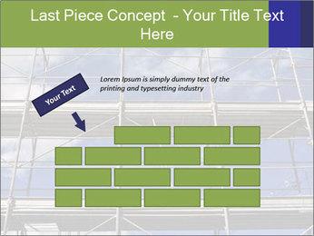 Metal scaffolding PowerPoint Template - Slide 46