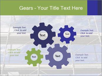 Metal scaffolding PowerPoint Template - Slide 47