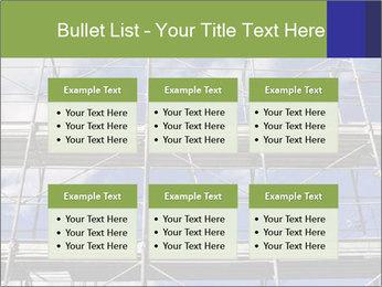 Metal scaffolding PowerPoint Template - Slide 56