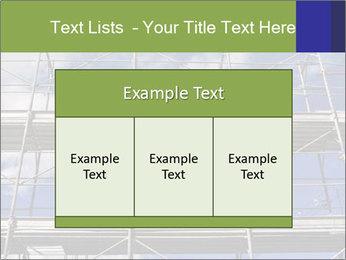 Metal scaffolding PowerPoint Template - Slide 59