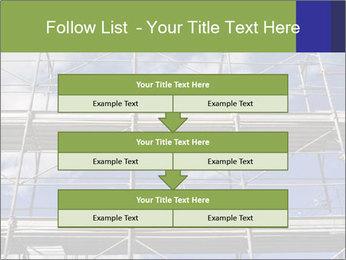 Metal scaffolding PowerPoint Template - Slide 60