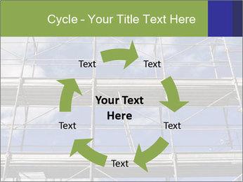 Metal scaffolding PowerPoint Template - Slide 62