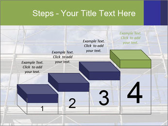 Metal scaffolding PowerPoint Template - Slide 64