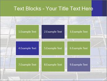Metal scaffolding PowerPoint Template - Slide 68