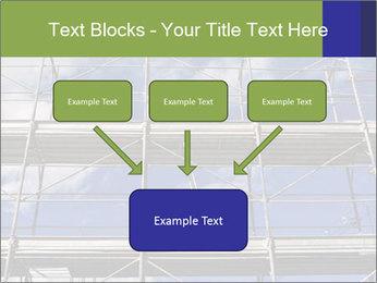 Metal scaffolding PowerPoint Template - Slide 70