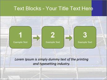 Metal scaffolding PowerPoint Template - Slide 71