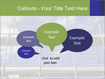 Metal scaffolding PowerPoint Template - Slide 73
