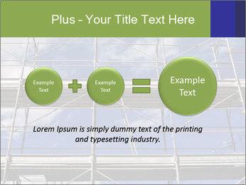 Metal scaffolding PowerPoint Template - Slide 75