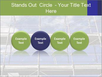 Metal scaffolding PowerPoint Template - Slide 76