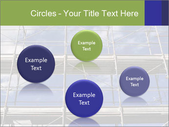 Metal scaffolding PowerPoint Template - Slide 77