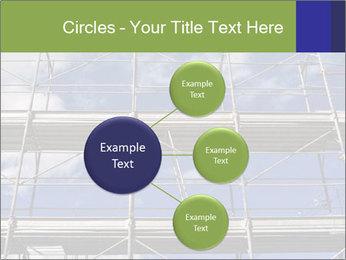 Metal scaffolding PowerPoint Template - Slide 79
