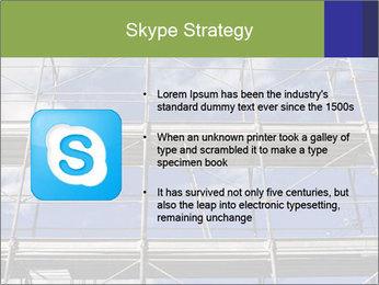 Metal scaffolding PowerPoint Template - Slide 8